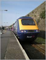 A First Great Western HST 125 Class 43 in Penzance.