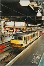 The  Caledonian Sleepers  from Scotland is arrived at London Euston.