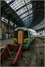 The 377 114 in Brighton.