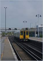 The 313 201 to Seaford in Brighton.