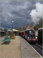 The Bluebell Railway Steamer 323 inHosted Keynes.