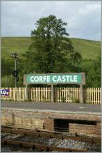 CORFE CASTLE Station.
