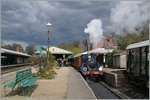 A Bluebell Railway steamer service in Horsted Keynes.